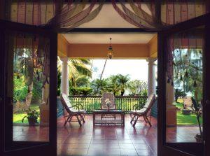 villa morjim interiors Goa